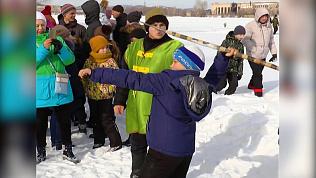 В кыштымских «Богатырских играх», в отличие от челябинских, принимали участие девушки