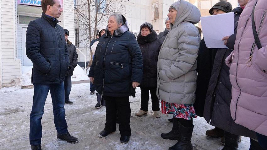 Депутатская проверка ускорила ликвидацию коммунальной аварии