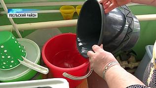 Жители станции Упрун остались без воды