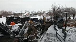 Последствия пожара в Аше, унесшего жизни матери и ребенка, попали на видео