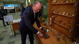 Губернатор подарил коллекционеру верблюда