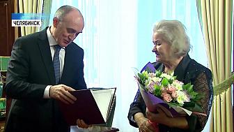 Дубровский встретился с Лидией Скобликовой