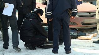 Убийства на Успенском кладбище. Видео с места преступления