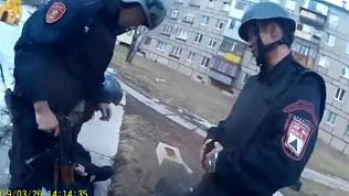 В Магнитогорске задержали одного из участников вооруженной разборки. ВИДЕО