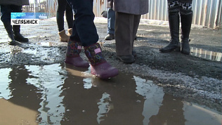 Жители Чурилово запаслись резиновыми сапогами
