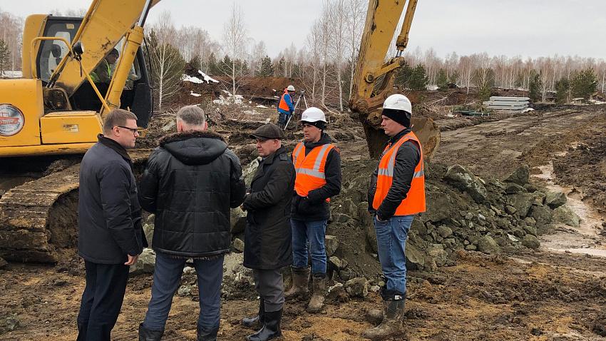 Врио губернатора потребовал ускорить темпы строительства президентского поселка