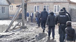 С профилактическими беседами навестили цыган Курчатовского района. ВИДЕО