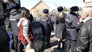 Последствия нелегального статуса цыганских поселений. Видео оперативников