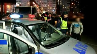 За 3 дня рейда было выявлено 40 пьяных водителей. Оперативная съемка