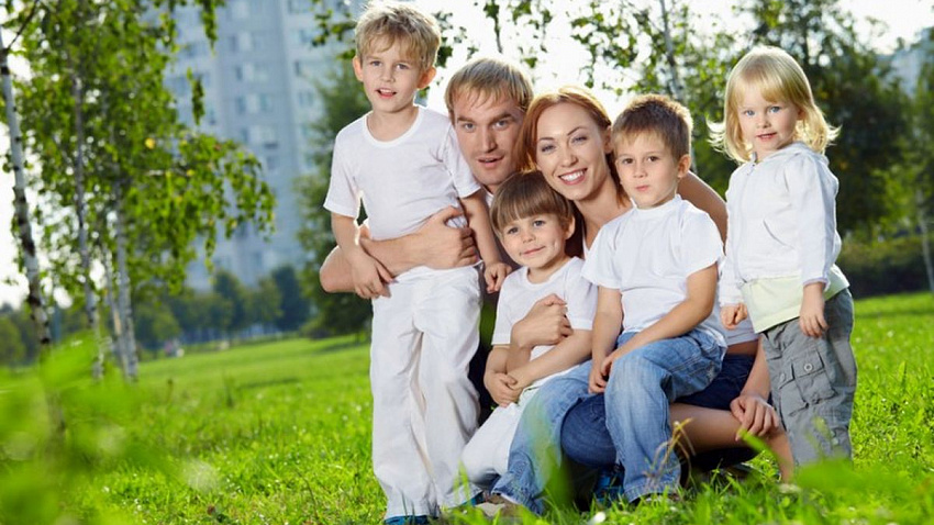 Многодетные семьи Челябинской области получат дополнительные льготы
