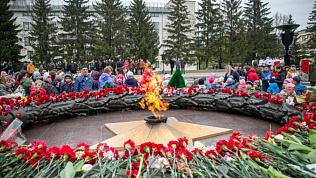 В Челябинске перенесут пламя «Вечного огня»