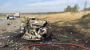 Страшная авария под Челябинском унесла жизни четверых. ВИДЕО 18+