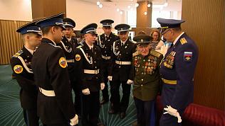 Губернатор провел торжественный прием ветеранов