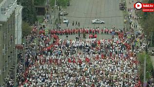 300 тысяч человек собрал «Бессмертный полк» в Челябинской области