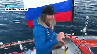 Фёдор Конюхов завершил кругосветное путешествие