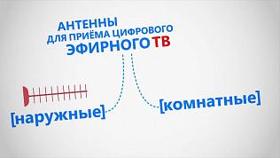 Антенны для приема цифрового сигнала