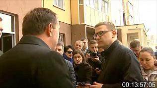 Алексей Текслер лично познакомился с проблемой недостроев