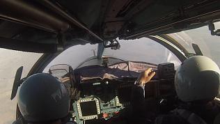 Су-34 и Су-24 нанесли бомбовый удар в ходе учения в Курганской области... Учебный!