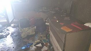 В Челябинской области женщина умерла во время пожара в многоквартирном доме