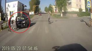 В Юрюзани водитель сбил школьницу на переходе