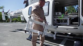 Вертолеты санавиации в Челябинской области будут обслуживать из областного и федерального бюджета