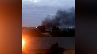 Пожар в частном секторе города Копейска напугал местных жителей