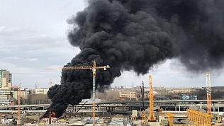 Прокуратура нашла виновного в пожаре на стройплощадке конгресс-холла