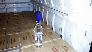 1000 литров водки задержали на границе