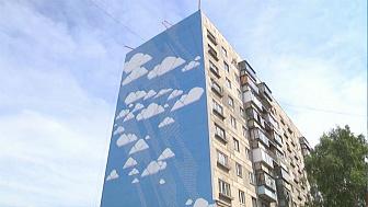 Работы по созданию граффити на фасадах завершены