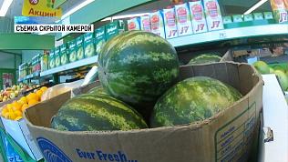 В Челябинске уже продают арбузы