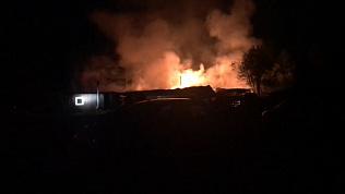 В пожаре на Таганае сгорели реликвии нацпарка