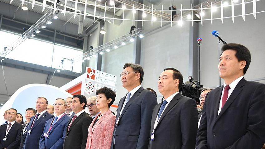 Южноуральская делегация приняла участие в Российско-Китайском ЭКСПО