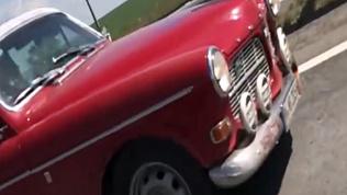 Ретро-автомобили ралли Пекин-Париж побывали в Магнитогорске