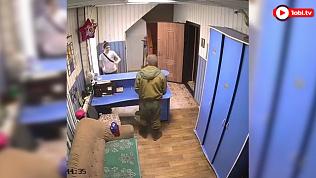 В Кыштыме камеры видеонаблюдения засняли остросюжетный триллер