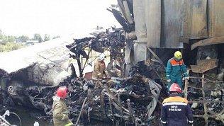 Авиакатасрофу в Бурятии снимал пассажир самолета