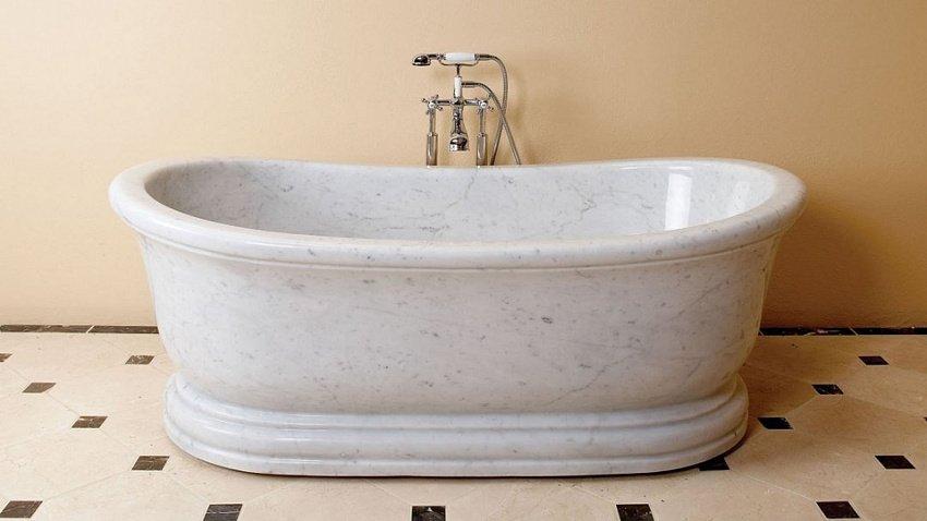 Ванна из камня — как выбрать правильно