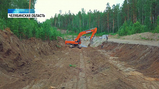 Строительство долгобродского канала завершено на 50%
