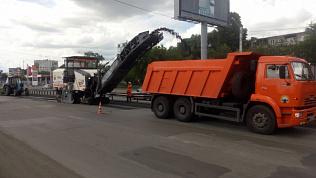 В Челябинске начался масштабный ремонт улицы Доватора