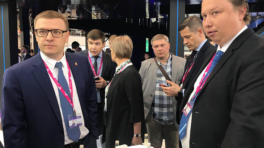 Небывалая роботизация и максимальная интерактивность. В Екатеринбурге проходит ИННОПРОМ