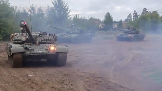 Вертолеты, реактивные самолёты, танки — как проходили учения на полигоне Чебаркуль?