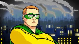 В Челябинске появился ещё один супергерой