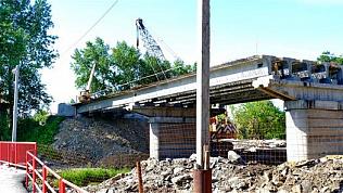 В Челябинской области начался масштабный ремонт полувекового моста