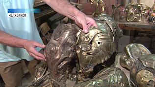 Челябинский скульптор создал установку для литья