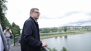Алексея Текслера не порадовало состояние Нязепетровска