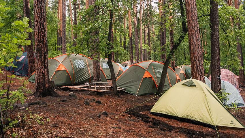 Южноуральские инспекторы проверили областной палаточный лагерь