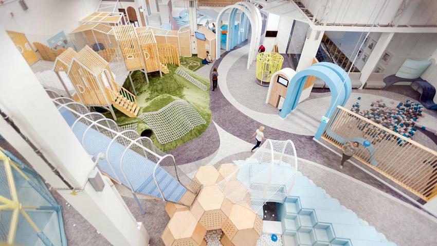 Место для игр. В Челябинске откроется новый детский парк развлечений