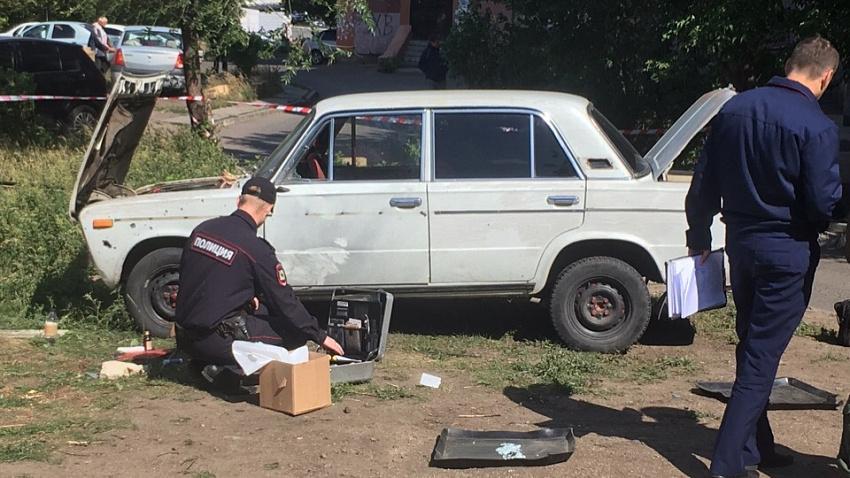 Житель Магнитогорска рассказал об утреннем взрыве автомобиля