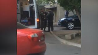 В Магнитогорске взорвался автомобиль. Видео с места событий
