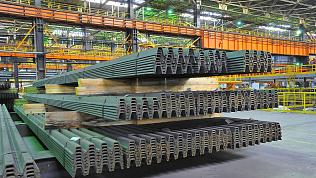 ЧМК освоил производство шахтной стойки для укрепления горных выработок