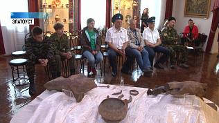 Кости мамонта передали в музей Златоуста